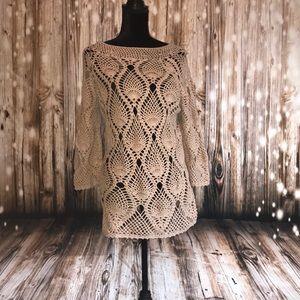 Tops - Crochet top, size XL